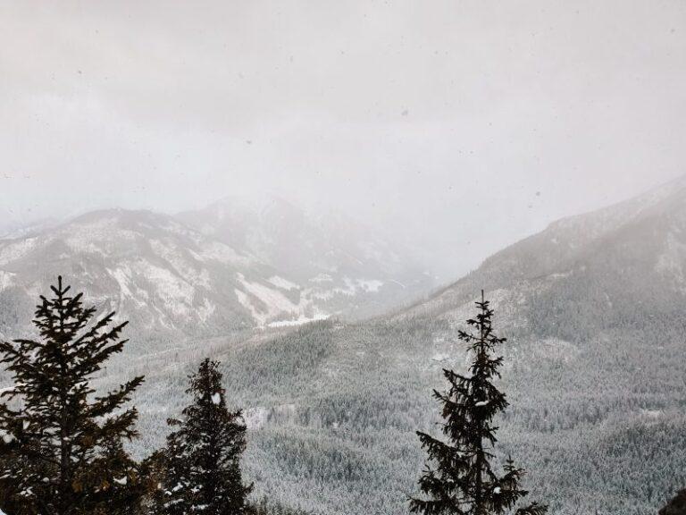 Gęsia Szyja i Rusinowa Polana. Łatwy szlak w Tatrach